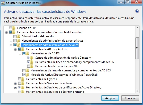 how to use active directory in windows 7